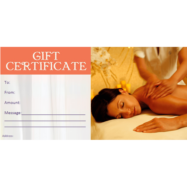 Gift certificate adam eve day spa for Adam and eve family salon